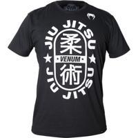 Camiseta Venum Jiu-Jitsu Star Black
