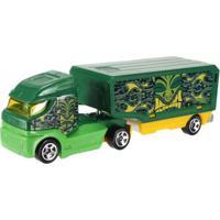 Carrinho Hot Wheels - Track Stars - Haulin Heat - Mattel