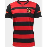 7ceffcc2633ac Netshoes  Camisa Sport Recife I 2018 S N° Torcedor Under Armour Masculina -  Masculino