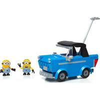 Mega Bloks Minions Problemas No Motor Carro Conversível Mattel Multicolorido