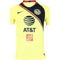 Camisa América Do México I 18/19 Nike - Masculina - Amarelo Claro