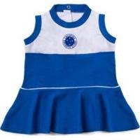 Vestido Cruzeiro Bebê Regata Revedor