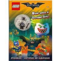 Livro Infantil - Lego - The Batman Movie - Bem Vindo A Gotham City - Happy Books