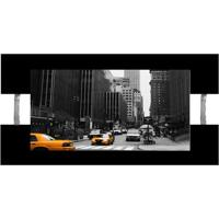 Quadro Nova York Preto 60X115Cm