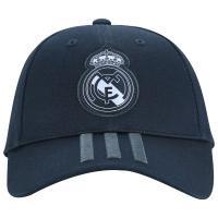 Boné Aba Curva Real Madrid 3S Adidas - Strapback - Adulto - Cinza Escuro 8f9dcd980a91f