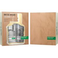 Kit Perfume Masculino United Dream Aim High Benetton Eau De Toilette 100Ml + Desodorante 150Ml - Masculino-Incolor