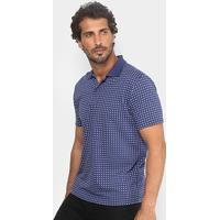 Camisa Polo Burn Mini Print Masculina - Masculino