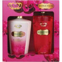 Kit Loção Corporal + Body Splash Love Secret Seduction - Unissex-Incolor
