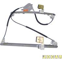 Máquina De Vidro - Santana 1999 Até 2006 - Elétrica Para Motor Bosch Estriada - Lado Do Passageiro - Cada (Unidade)