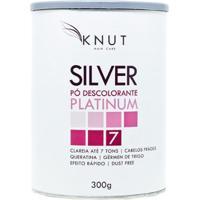 Pó Descolorante Queratina Knut Silver Platinum 300G - Unissex-Incolor