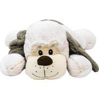 Pelúcia Minas De Presentes Cachorro Branco