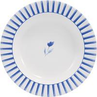 Prato Fundo 23 Cm Porcelana Schmidt - Dec. Elisa