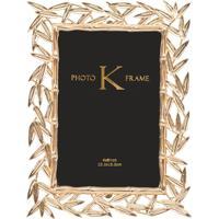 Porta-Retrato Gold Laurel M