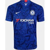 Camisa Chelsea Home 19/20 S/Nº Torcedor Nike Masculina - Masculino