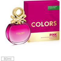 Perfume Colors Pink Her 80Ml