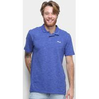 Camisa Polo Fila Essential Masculina - Masculino-Marinho