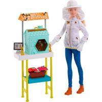 Playset E Boneca Barbie - Profissões - Barbie Apicultora - Mattel