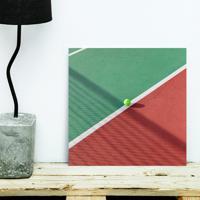 Placa Decorativa - Tennis Club