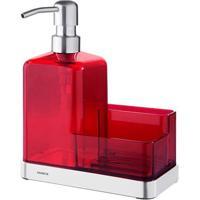 Organizador Para Pia Elegance Vermelho 2113/151 - Brinox - Brinox