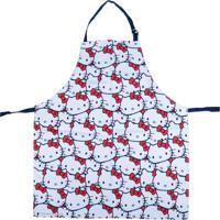 Avental De Cozinha Em Algodão Hello Kitty 70X0,5X80 Cm