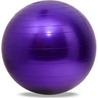 Bola De Ginastica Suíça Gym Ball - 65Cm - Lilas - Mbfit - Unissex