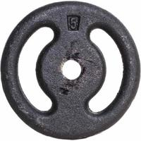 Anilha De Ferro Fundido Pintada Musculação Yangfit 5Kg - Unissex