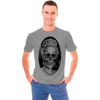 Camiseta Shop225 Rainha Caveira Mescla