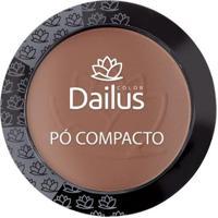 Pó Compacto Dailus - New 10 - Marrom Claro - Unissex-Incolor