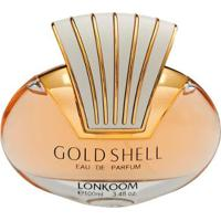 Perfume Feminino Gold Shell Lonkoom Eau De Parfum 100Ml - Feminino-Incolor