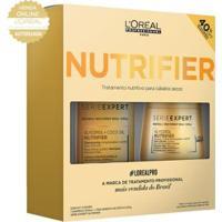 Kit Shampoo Nutrifier 300Ml + Máscara De Tratamento Nutrifier 250G - Unissex-Incolor