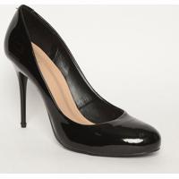 Sapato Tradicional Envernizado - Preto- Salto: 11Cmmya Haas