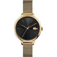 Relógio Lacoste Feminino Aço Dourado - 2001102