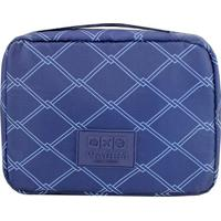 Nécessaire De Viagem- Azul Marinho & Azul Claro- 19Xjacki Design