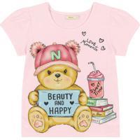 Blusa Infantil Rosa