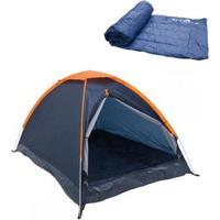 Barraca Camping Nautika Panda + Colchonete Camp Mat E Resistente - Unissex