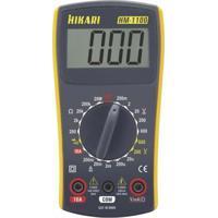 Multímetro Digital Hikari Hm-1100 Cinza/Amarelo