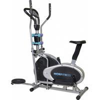 Bicicleta Ergométrica Elíptica Mor Com Halteres E Sistema Mecânico - Unissex