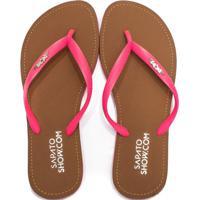 Chinelo Feminino Broche Verão 2020 Sapato Show 01801192