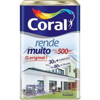 Tinta Acrílica Fosco Rende Muito Amarelo Frevo 18L - Coral - Coral
