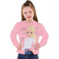 Casaco Barbie Rosa