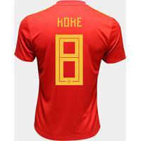 Camisa Seleção Espanha Away 2018 N° 8 Koke - Torcedor Adidas Masculina - Masculino