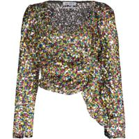 Attico Blusa Com Paetês - 021 Multicoloured