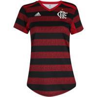 Camisa Do Flamengo I 2019 Adidas - Feminina - Vermelho/Preto