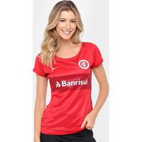 17724dfffb Netshoes  Camisa Internacional I 17 18 S Nº - Torcedor Nike Feminina -  Feminino