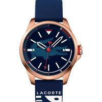 Relógio Lacoste Masculino Borracha Azul - 2010964