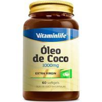 Óleo De Coco 1000Mg ( 60 Softgels ) Vitaminlife - Unissex