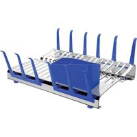 Escorredor De Louã§As Tramontina Aã§O Inox Plurale Azul - Azul - Dafiti