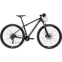 "Bicicleta Mtb Caloi Blackburn Aro 29 - Susp Dianteira - Quadro 15\"" - 20 Velocidades - Preto"