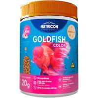 Ração Para Peixes Nutricon Goldfish Color 20G
