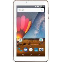 Tablet Multilaser M7-3G Plus Android 7.0 1Gb Ram Wi-Fi Tela 7 Polegadas 8Gb Dual Cam